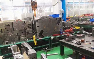 Die cast aluminium alloy molding
