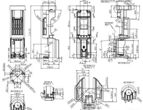 Injection mold design for industrial molding